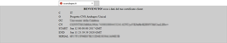 certificato aruba pec