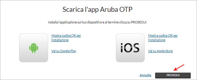 Reset del dispositivo OTP Mobile in caso di cambio telefono